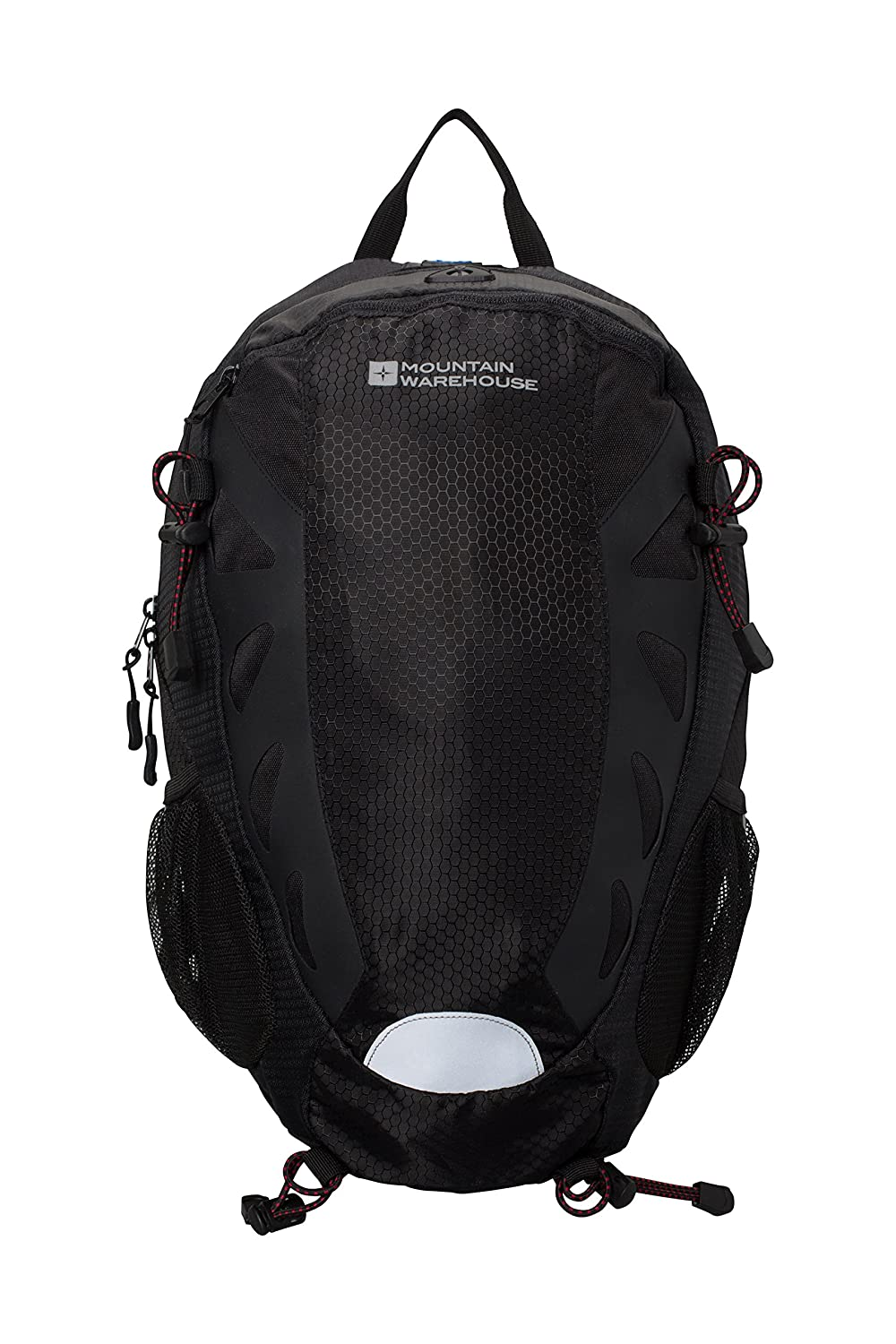 Mountain Warehouse Force Cycle 22L Hydro Bag -High Vis Hydration Pack chic