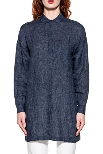Bagutta Mujer CORA06188052 Azul Lino Camisa