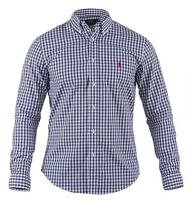 Polo Ralph Lauren | Hombre Camisa Cuadros | Slim Fit | Camisa de ...