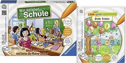 Ravensburger Niños tiptoi escolar Juego – Parte Que Jugar Escuela y libro Primera Números Aprendizaje de parte de aventura: Amazon.es: Juguetes y juegos
