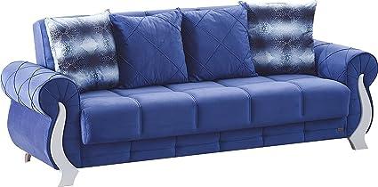 Amazon.com: BEYAN Montreal Collection Sleeper Sofa with ...