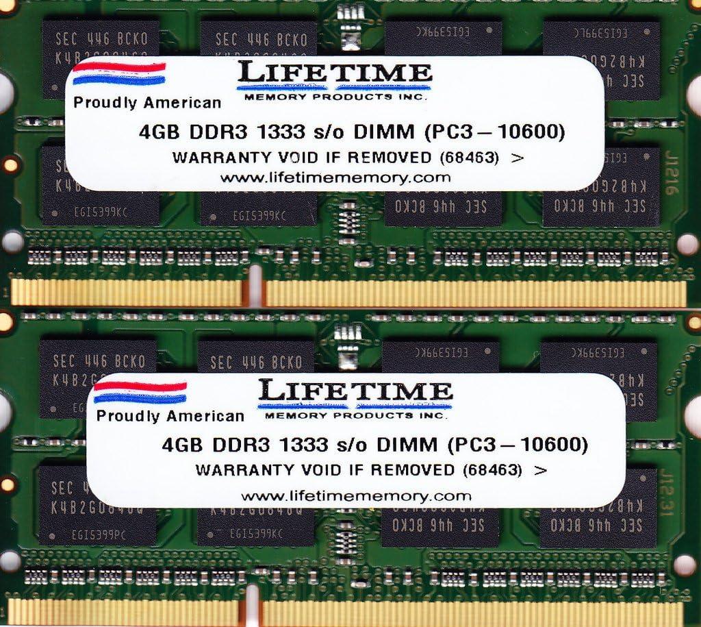 4AllDeals 8GB (2X4GB) RAM Memory 4 Mac Mini 2.3GHz Intel Core i5 (MC815LL/A) (DDR3-1333MHz 204-pin SODIMM)
