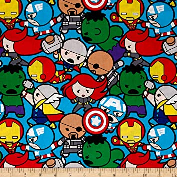 Springs Creative Products Marvel Kawaii All In The Pack Tela Por