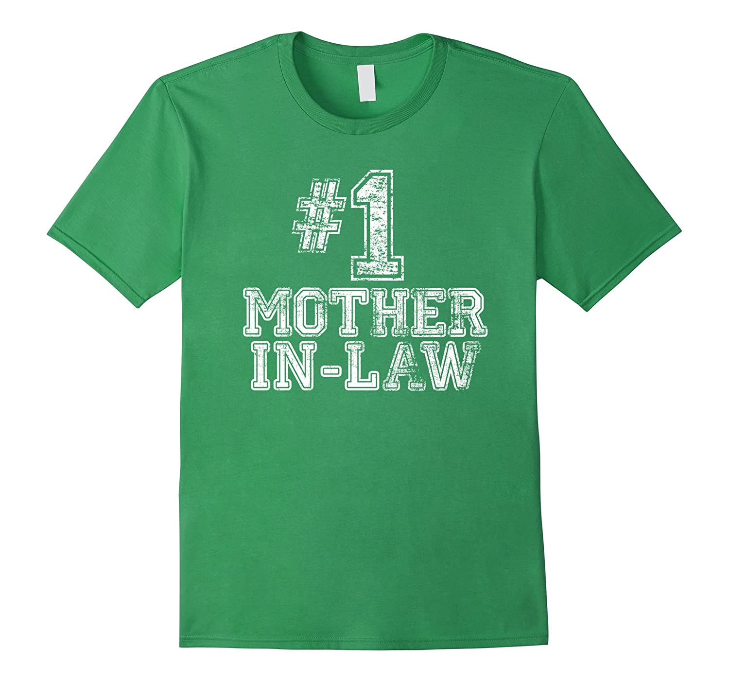 1 Mother-in-Law T Shirt - Number One Mothers Day Gift Tee-TH