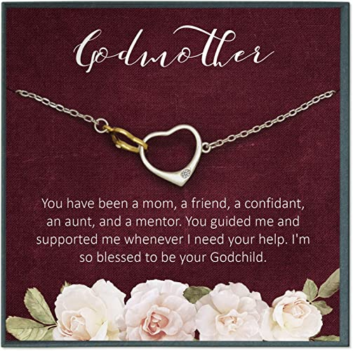God Daughter Gift Friendship Bracelet Baptism Gift for God Daughter Birthday Gift Heart Bracelet Personalized Gift for Kid