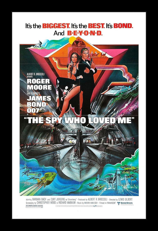 Wallspace James Bond The Spy Who Loved Me - 11x17 Framed Movie Poster