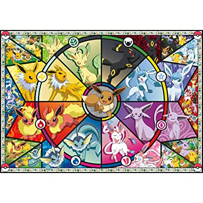Buffalo Games - Pokémon - Eevee's Stained Glass - 500 Piece Jigsaw Puzzle: Toys & Games