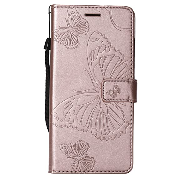 For Huawei Y7 Prime 2018 Shockproof Premium Leather Wallet Stand Flip Case Cover Cell Phones & Accessories