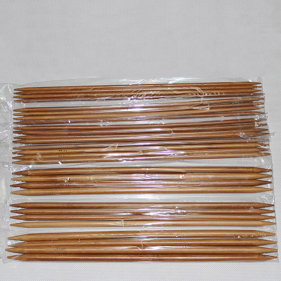 LissomPlume Bambus Nadeln Stricknadel Pullover Doppelspitzig Nadel ...
