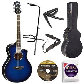 Yamaha apx500iii OBB acústica/eléctrica Cutaway Guitarra, Oriental ...