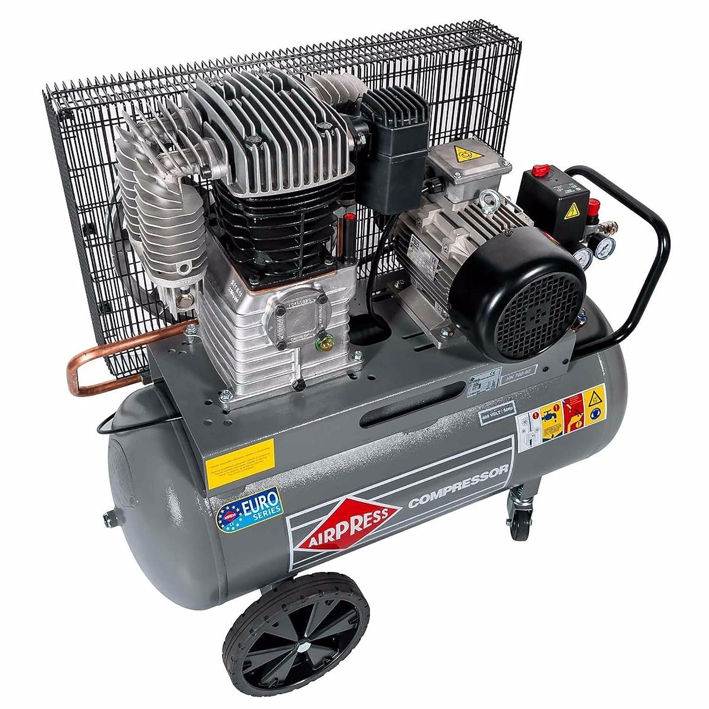 BRSF33 ® Impresión Compresor De Aire HK 650 - 90 (4 KW, Max. 11 bar, 90 litros caldera) Conector de alimentación 400 V: Amazon.es: Bricolaje y herramientas