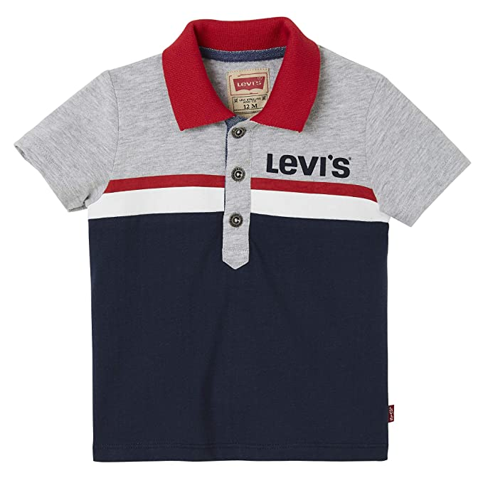 Levis kids Nn11014 48 Polo Shirt, Azul (Dark Blue), 3-6 Meses ...