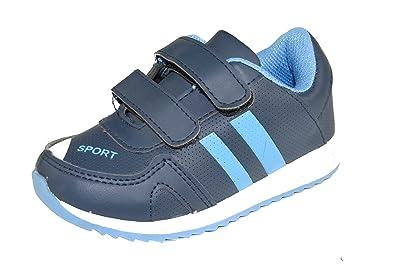 B1235 Kinder SneakerSportschuhe mit Klettverschluss in