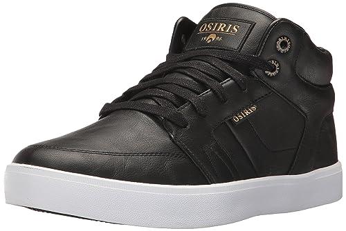 Osiris Men's Helix Skate Shoe, Black/Gold/Turner, ...