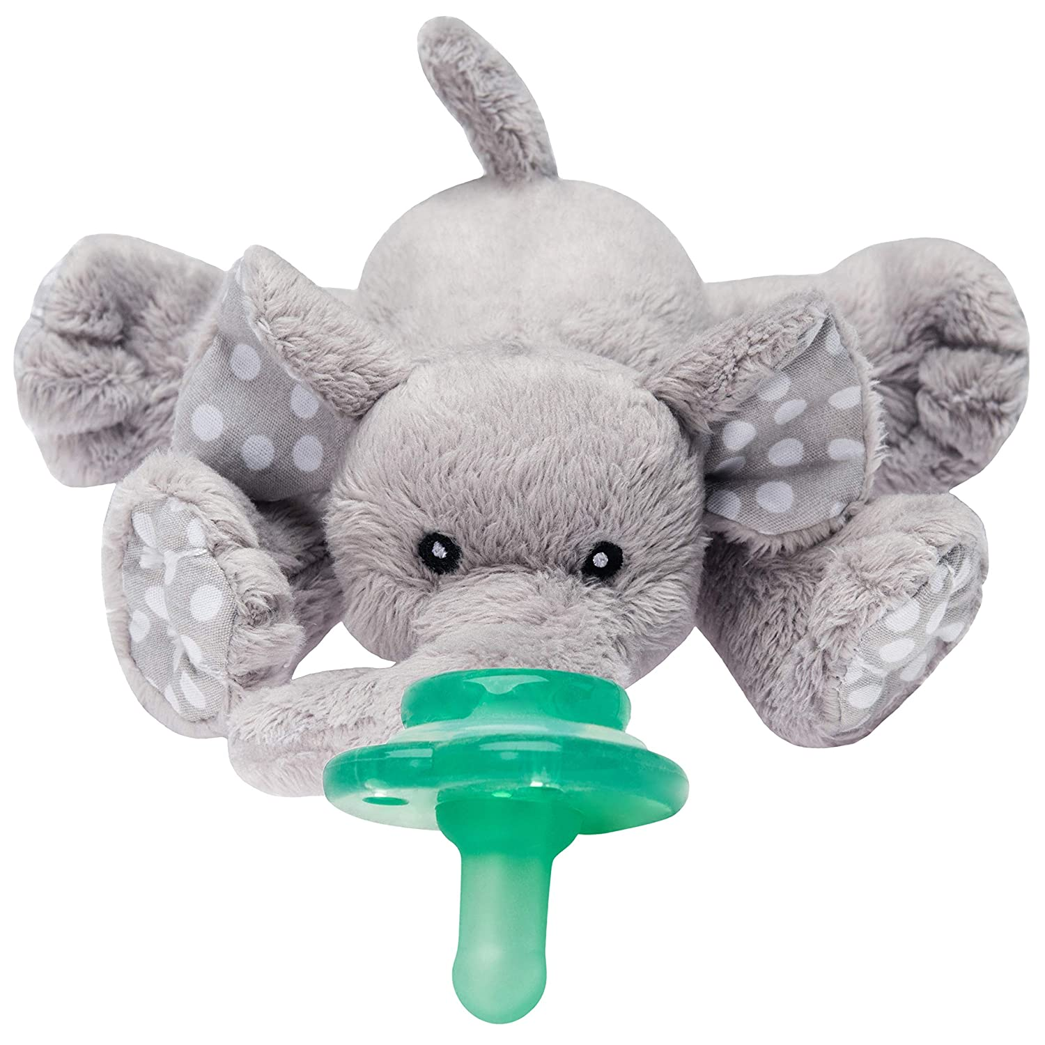 Amazon Com Nookums Paci Plushies Elephant Buddies Pacifier