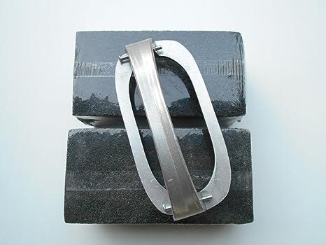 Piedra de limpieza Parrilla ladrillos W/soporte para 3 - 1/2 ...