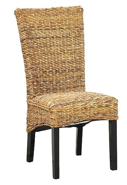Merveilleux Louis Rattan Side Chair