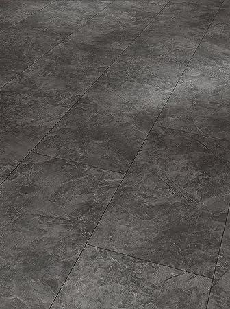 PARADOR Laminat Trendtime 5 Schiefer achatgrau Fliesenoptik Steinstruktur  Fuge 2,105m²