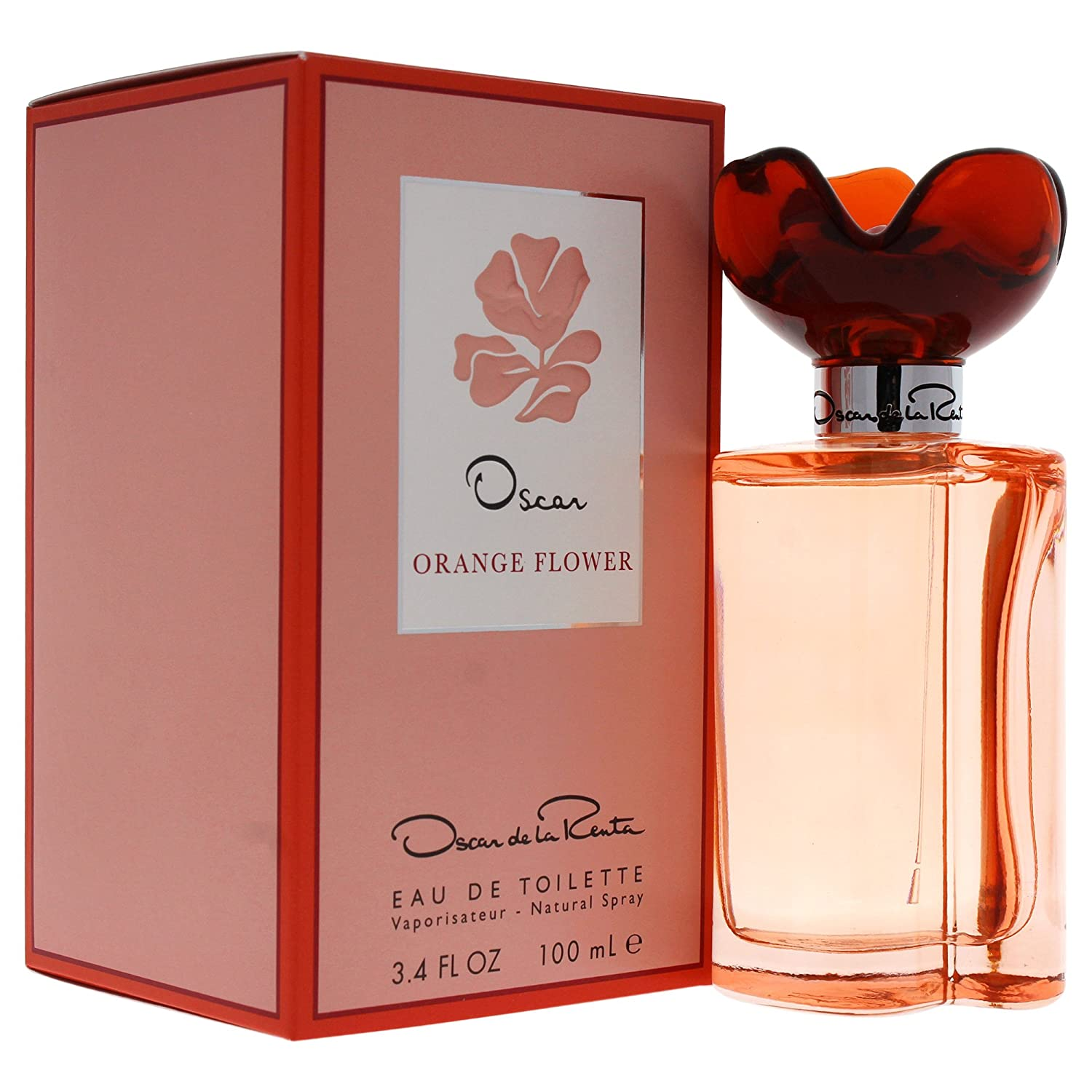 Oscar De La Renta Eau-De-Toilette, Orange Flower, 3.4 Ounce