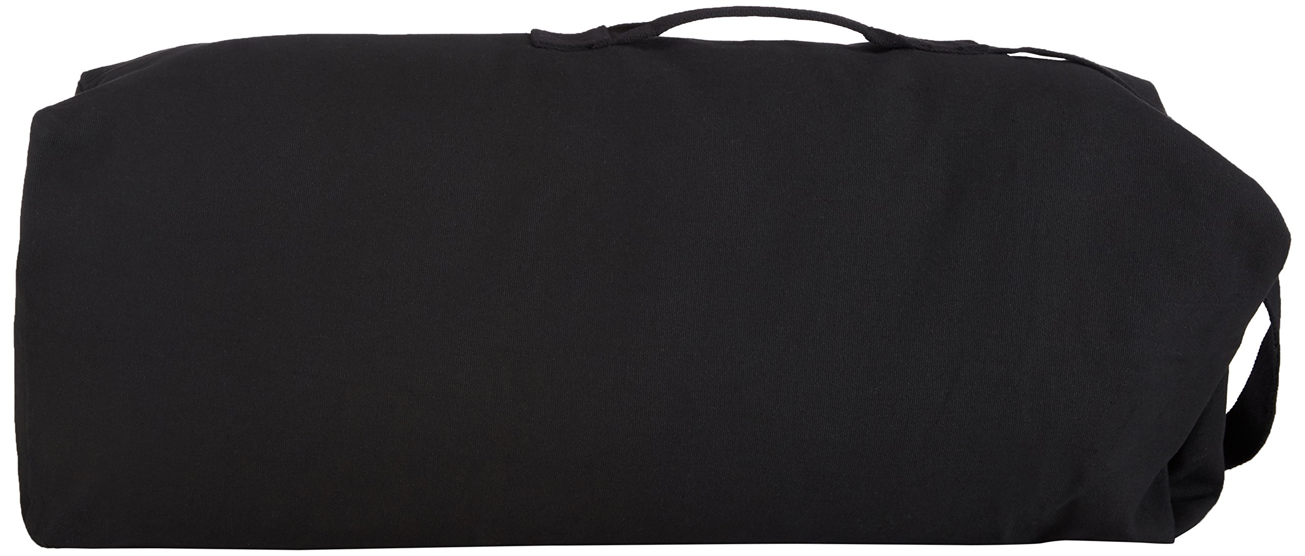 Stansport 1221 Deluxe Duffel Bag with Shoulder Strap, 36'' X 10'' X 10'', Black
