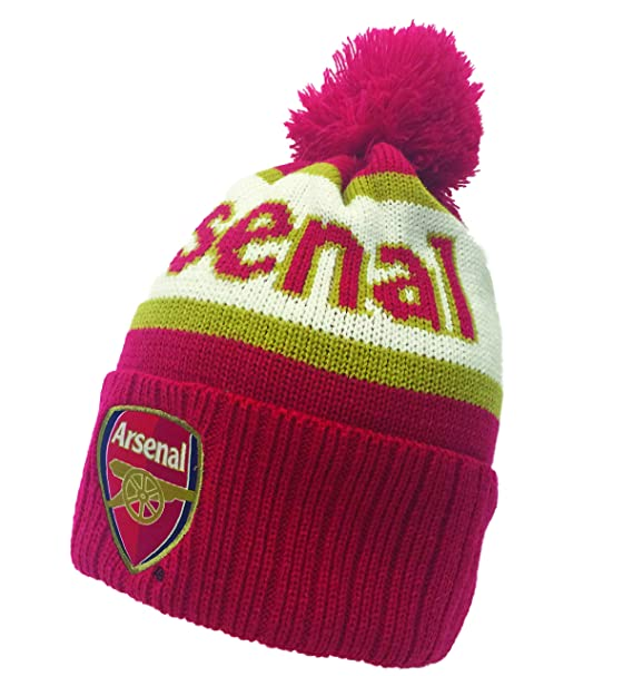 Amazon.com  Arsenal Pom Beanie  Clothing 6ce349584