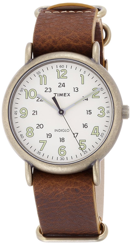 [タイメックス]TIMEX ウィークエンダーヴィンテージ40mmアンティークゴールド【国内正規品】 TW2P85700 【正規輸入品】 B01IP2I0F6