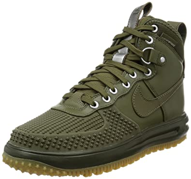 new product ce344 2a771 Nike Mens Lunar Force 1 Duckboot Medium Olive Leather Size 8