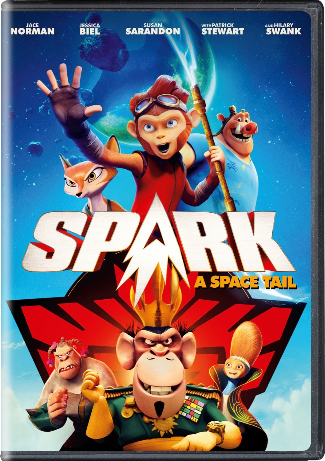 DVD : Spark: A Space Tail (DVD)