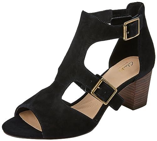 6e38f2f0 Clarks Deloria Kay, Sandalia con Pulsera para Mujer: Amazon.es: Zapatos y  complementos