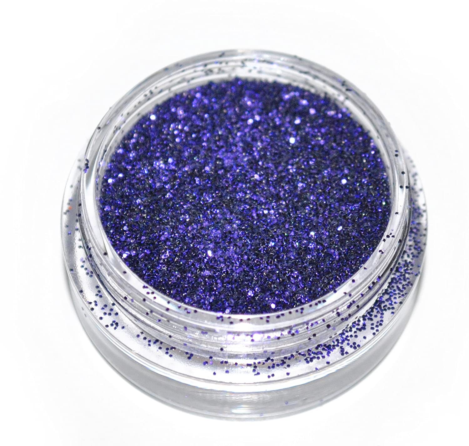 Dark Purple Eye Shadow Loose Glitter Dust Body Face Nail Art Party Shimmer Make-Up Kiara H&B B00GI8CQH8