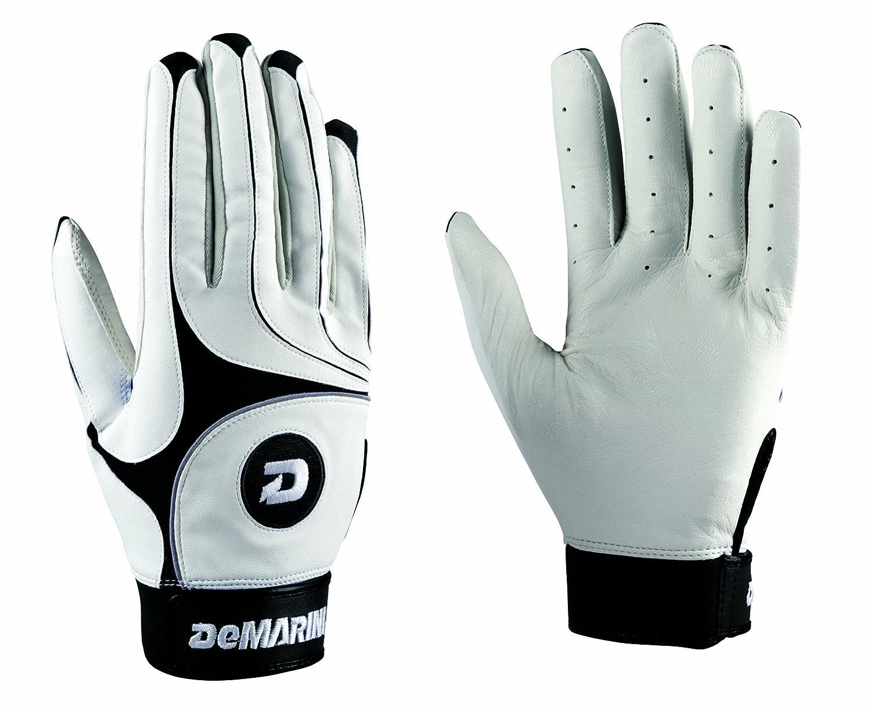 DeMarini VooDoo Black Adult Batting Gloves