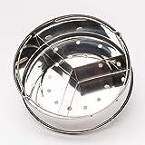 Steamer Basket - Pressure Cooker Accessories for 5, 6, 8 Qt with Removable Dividers, Egg Rack, Stack N' Cook