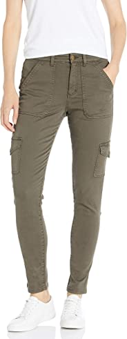 Amazon Brand - Daily Ritual Women's Stretch Cotton/Lyocell Skinny Cargo Pant