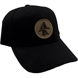 304080ad Bigfoot/Sasquatch Hat! Adjustable-Back Ball Cap with Embroidered Bigfoot