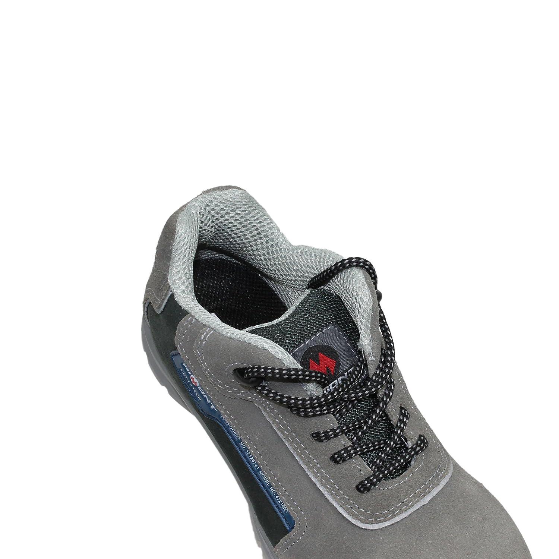 88f0a9f468afc AIMONT Scarpe Delta S1P SRC Sicurezza Lavoro Scarpe Scarpe Professionali  Commerciali Trekking Scarpe Grey  Amazon.it  Scarpe e borse