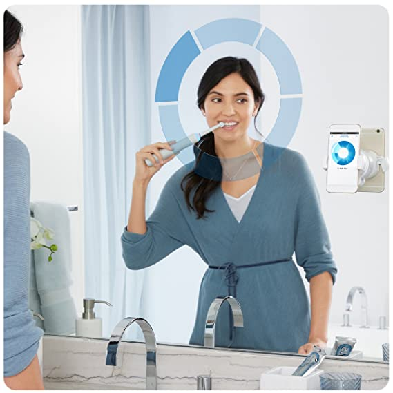 Oral-B Genius 9200W 3DWhite Adulto Blanco - Cepillo de dientes eléctrico (Batería, Integrado, 288 h, Ión de litio, 810 g, 102 mm): Amazon.es: Salud y ...