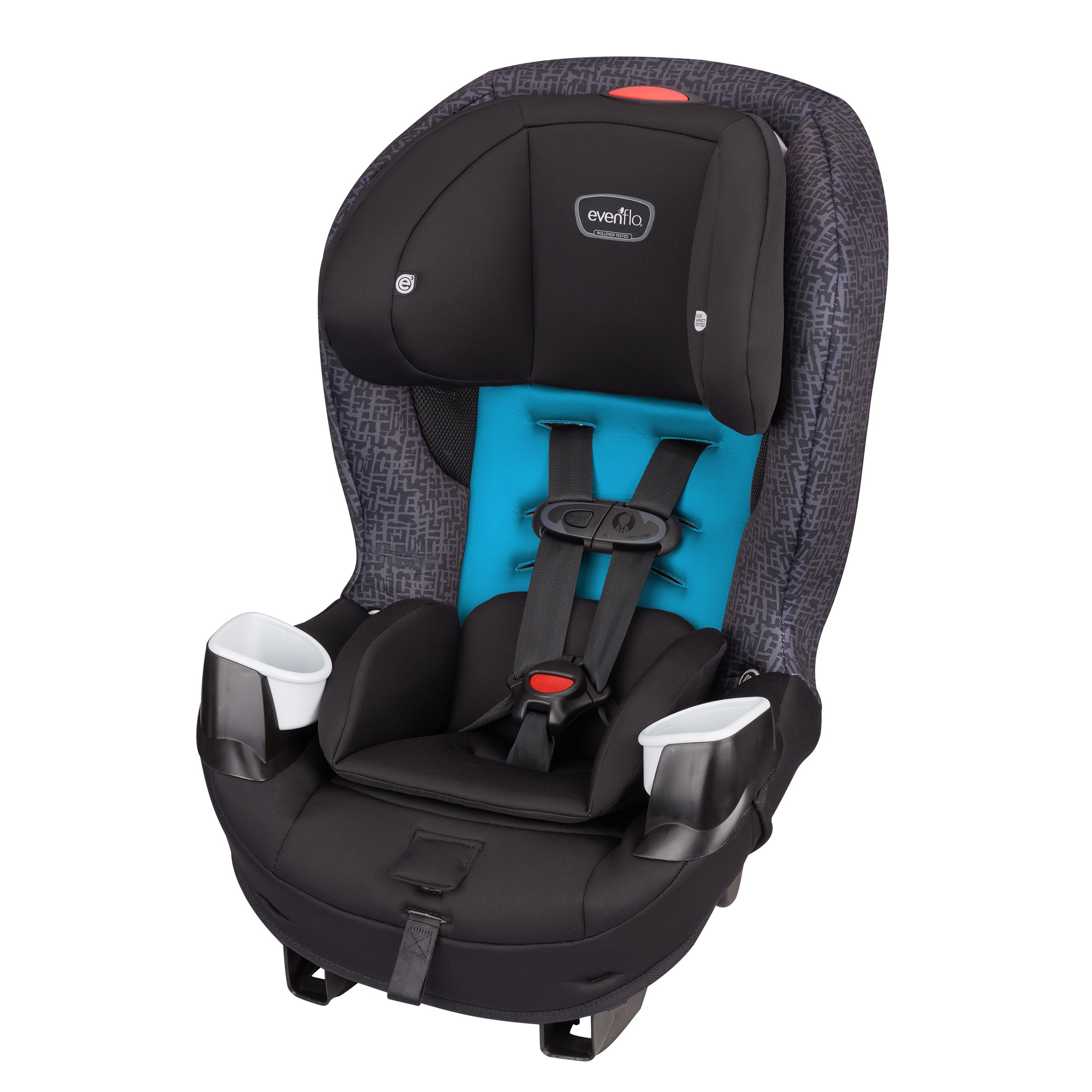 Evenflo Sureride Dlx Convertible Car Seat >> Amazon.com : Evenflo Stratos 65 Convertible Car Seat, Pink Sunset : Baby