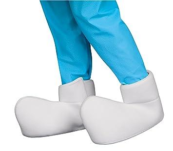 2321e4928 Rubie's Costume Company 34478_NS Smurfs: The Lost Village Child's Smurf  Shoe Covers Costume Accessory, One Size, Accessories - Amazon Canada