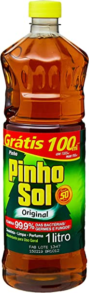 Desinfetante Pinho Sol Original 1000ml Promo Grátis 100ml