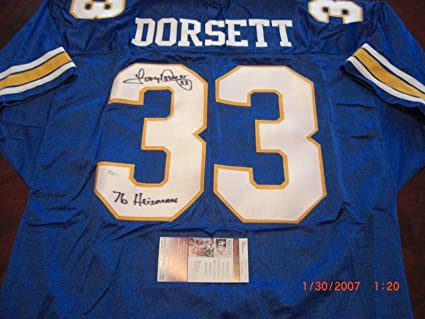 Image Unavailable. Image not available for. Color  Signed Tony Dorsett  Jersey ... 2abdea22d