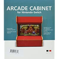 Myriann, DIY Hardwood Nostalgia Arcade Cabinet Stand For Playing Games - Black - Nintendo Switch