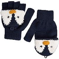 Mountain Warehouse Gants tricotés pour Enfants Penguin - Chauds, légers, Bande élastique, Paume texturée pour Bonne adhérence