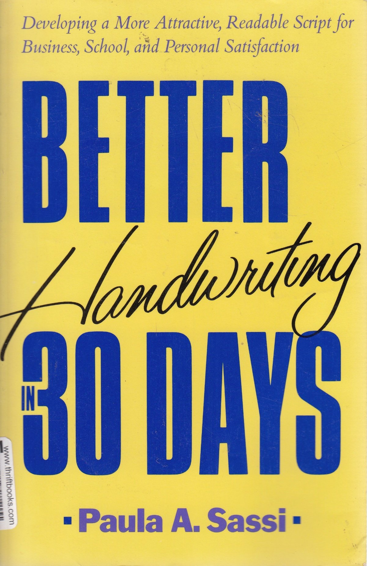 Better Handwriting 30 Days