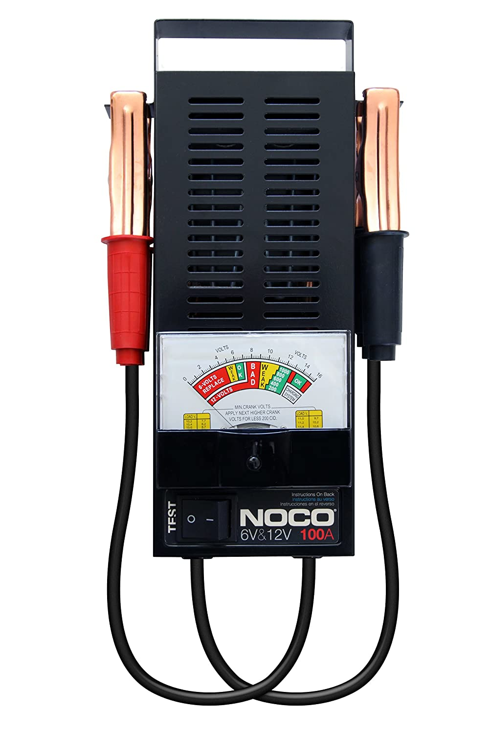NOCO BTE181 100-Amp Testmaster Battery Load Tester