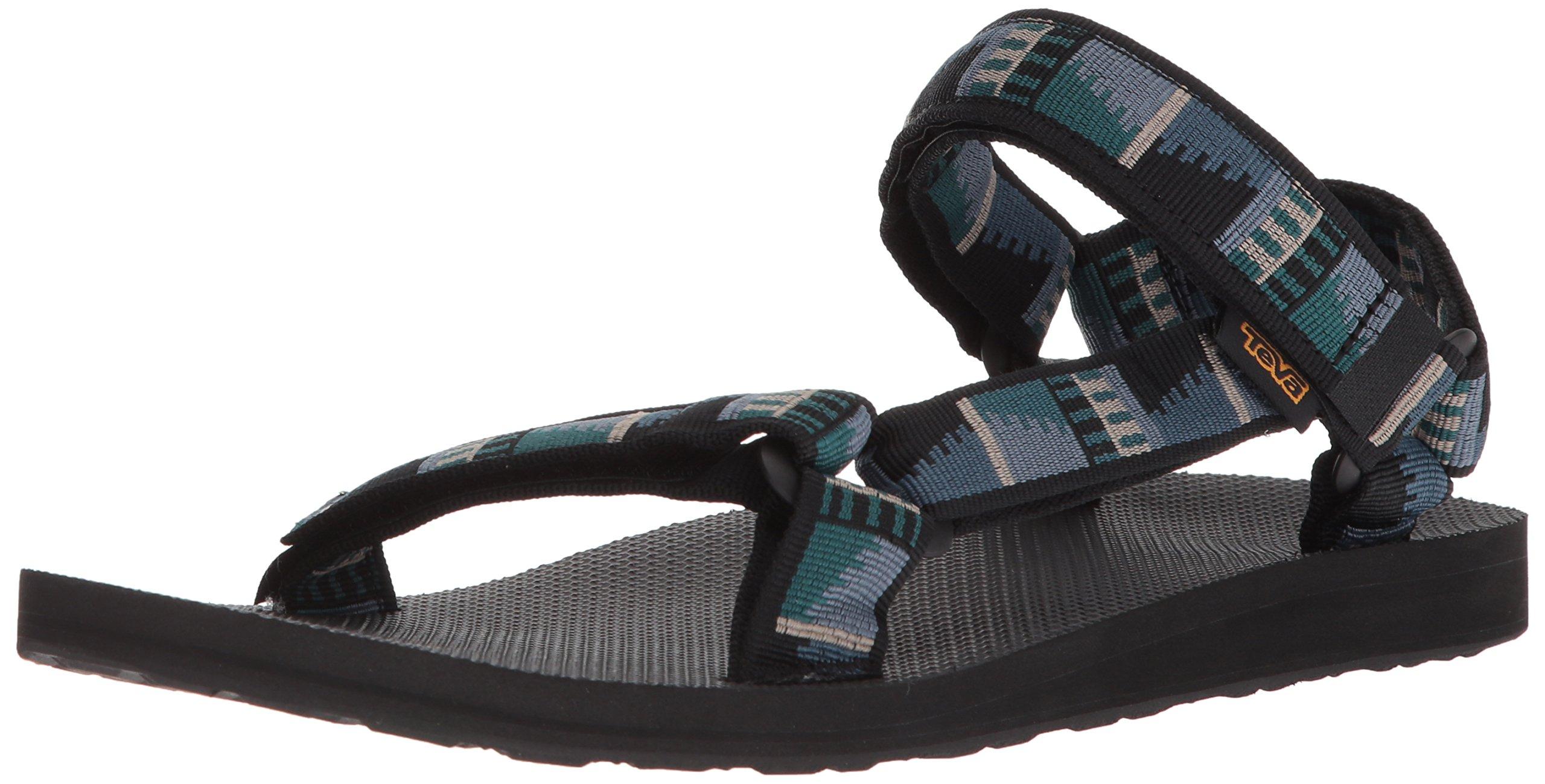Teva Men's M Original Universal Sport Sandal, Peaks Black, 9 M US