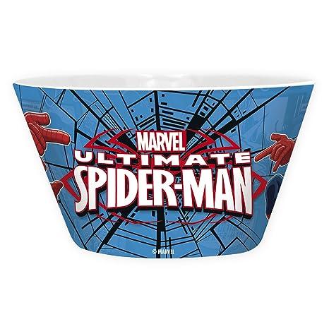Amazon.com: One Piece Marvel - Bowl - 460 ml - Spider-Man ...