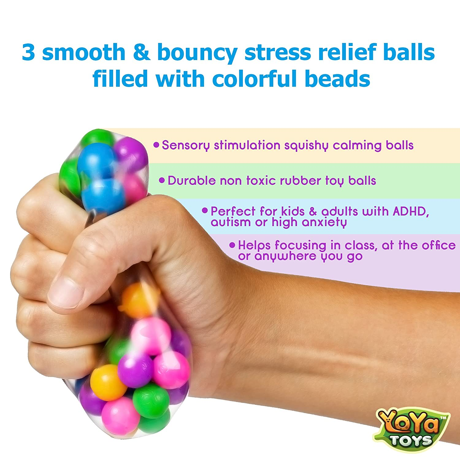 Remembering the lessons of childhood: anti-stress toys
