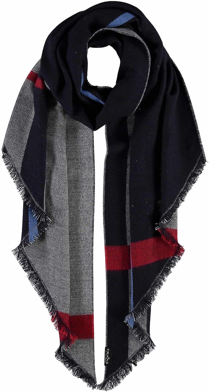 7a9d8e73206d Fraas - Etole - À rayures - Femme - Bleu - Taille unique  Amazon.fr   Vêtements et accessoires