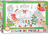 EuroGraphics The Night Before Christmas Color Me Puzzle (100 Pieces)