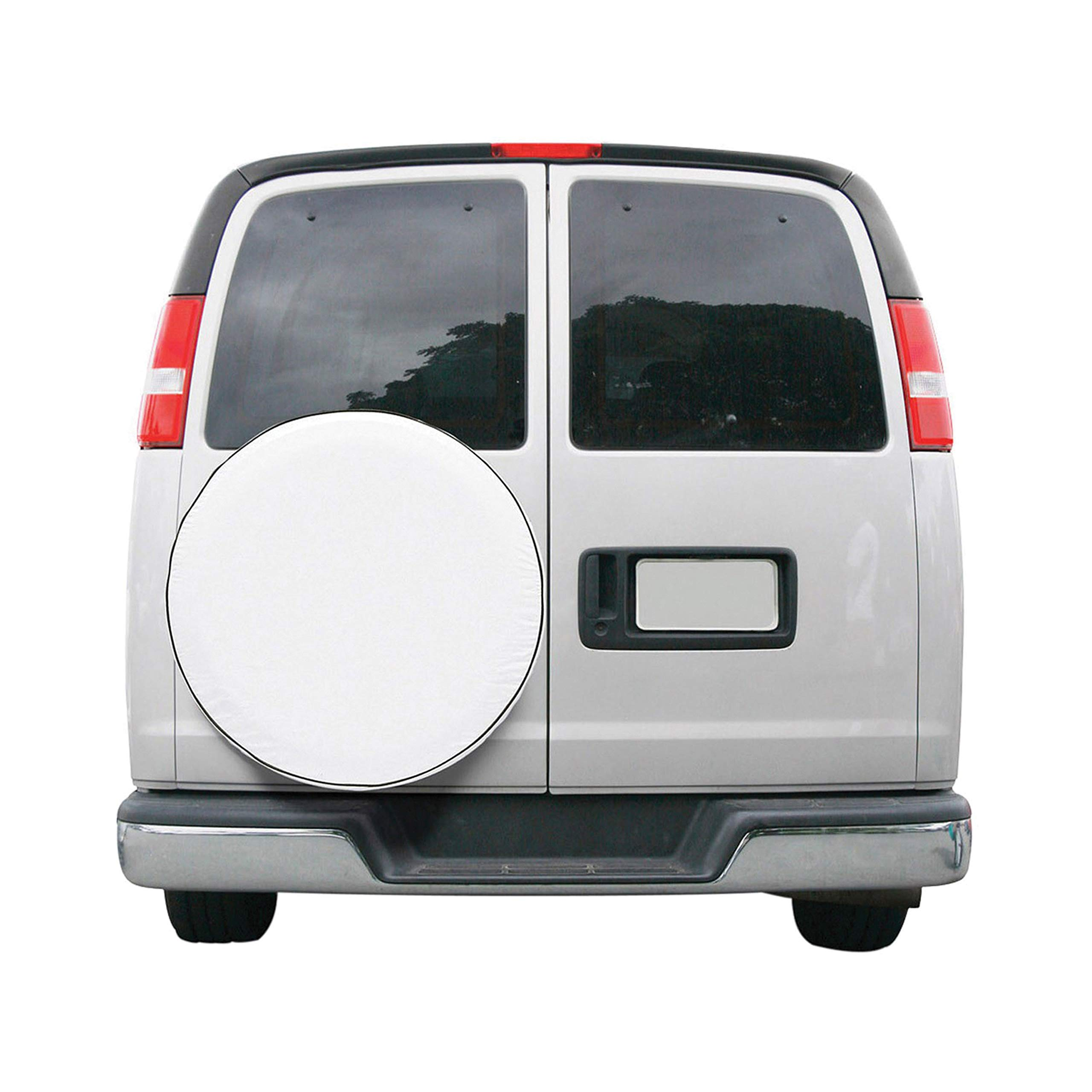 Classic Accessories OverDrive Universal Fit Spare Tire Cover, White, Small